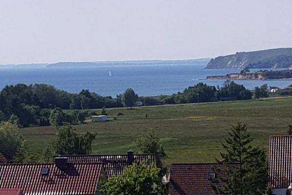 Blick vom Grundstück
