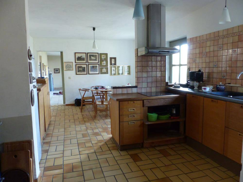 gesamte Küche