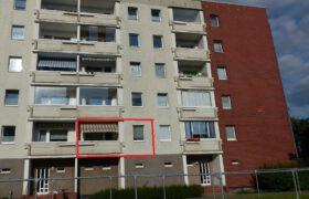Ansicht Seite Balkon/Küche
